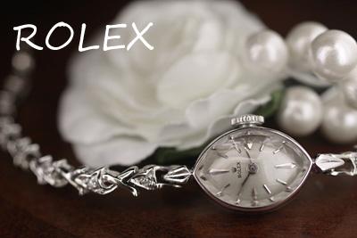 ROLEX ロレックス 14金ケース&ブレス ダイヤモンド アンティークカクテルウォッチ*2923rolex