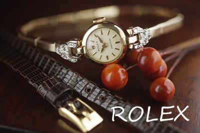 ROLEX ロレックス 18金 アンティークカクテルウォッチ*2950rolex
