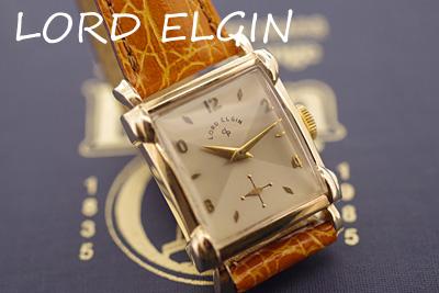 ロードエルジン LORD ELGIN スモールセコンド アンティークウォッチ*2967elgin