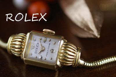 ロレックス 18金ケース アンティークカクテルウォッチ*2996rolex