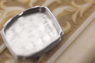 ハミルトン プラチナケース&14金ブレス ダイヤモンドカクテルウォッチ*3012hamilton