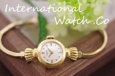 International Watch Co インターナショナルウォッチ 18金ケース&14金ブレス  *3065iwc