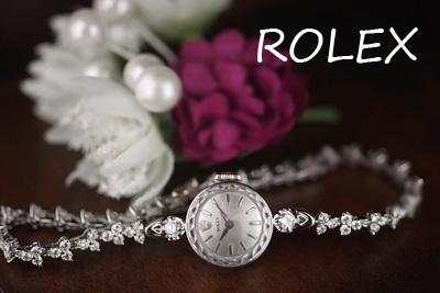 ROLEX ロレックス ロレックス 14金CASE&18金ブレス ダイヤモンド3カラット アンティークウォッチ*3141rolex