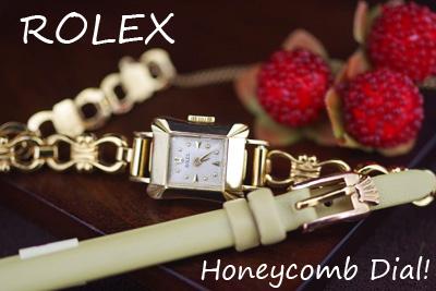ROLEX ロレックス 18金ケース  アンティークカクテルウォッチ*3154rolex