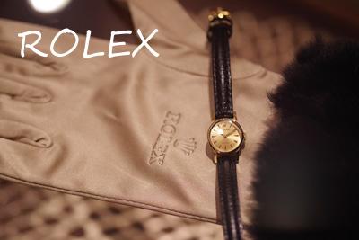 ROLEX 18金ケース アンティークウォッチ* 3162rolex