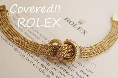 ROLEX ロレックス 14金 ダイヤモンド アンティークカカバーウォッチ*3200rolex