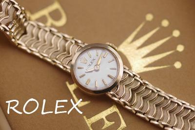 ROLEX ロレックス イギリス製9金ケース  アンティークカクテルウォッチ*3207rolex
