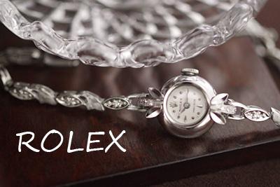 ROLEX ロレックス 18金ケース&14金ブレス ダイヤモンド アンティークカクテルウォッチ*3218rolex